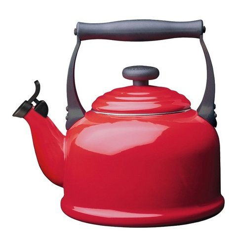 Le Creuset Wasserkessel Tradition rot